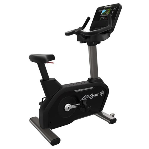 Life Fitness Club Series + Plus Upright Lifecycle Bike with X Console