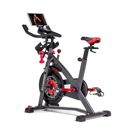 Schwinn IC4 Indoor Cycling Bike - Works with Peloton & Zwift Apps - Tablet not Included