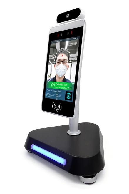 Echelon IR Body Temperature Kiosk with Facial Recognition