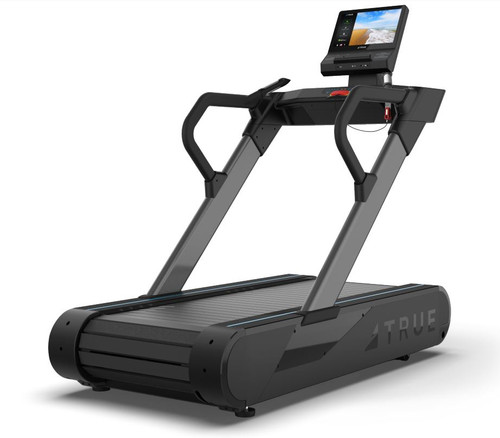 True Fitness Stryker Slat Treadmill shown with ENVISION 16 II Console