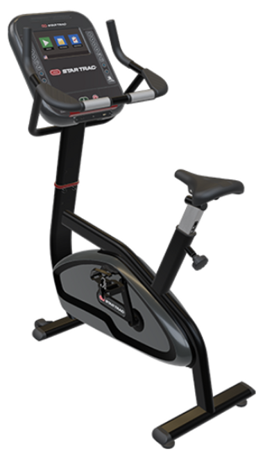 """Star Trac 4 Series Upright Bike with 10"""" Touch Display Cardio Console"""