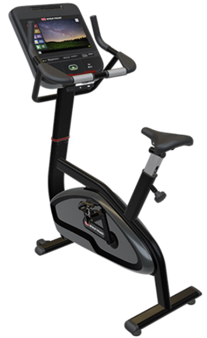 """Star Trac 4 Series Upright Bike with 15"""" Capacitive Touch OpenHub Console"""