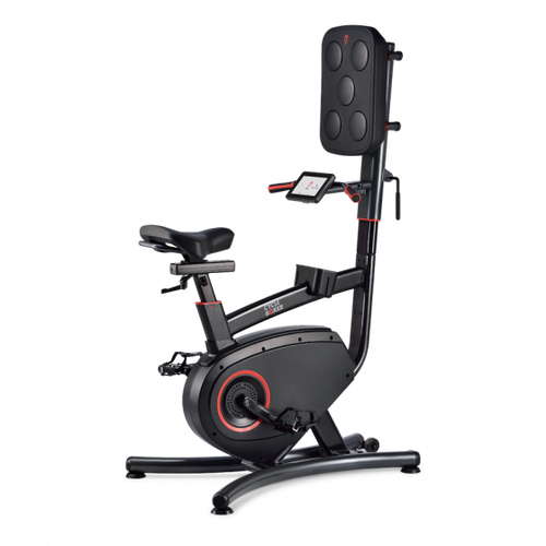 LifeSpan CYCLE BOXER - Upright Bike with Punch Pad