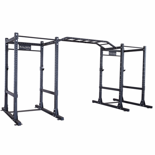 Body-Solid SPR1000DB Commercial Double Power Rack Package