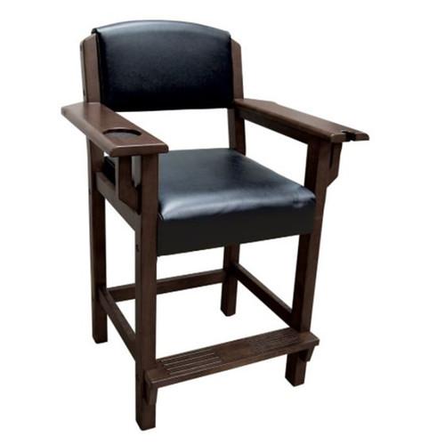 Brunswick Traditional Player's Chair - ESPRESSO