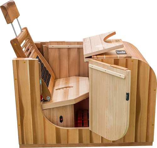 Health Mate Essential Lounge - Half Sauna