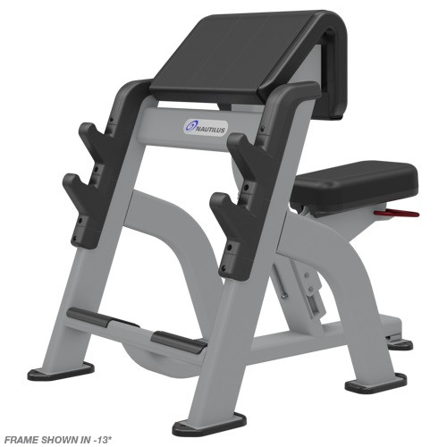 Nautilus Inspiration Seated Arm Curl Bench