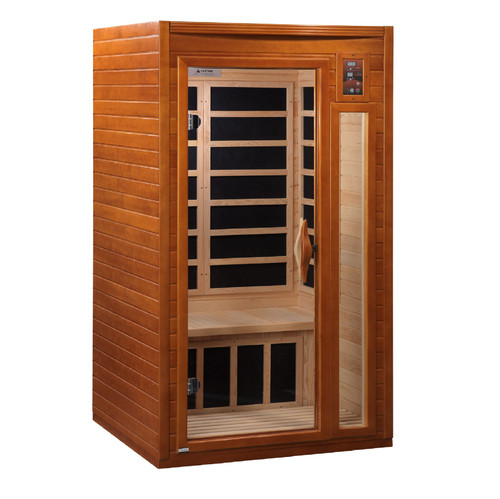 Golden Designs DYN-6106-01 Dynamic Low EMF Far Infrared Sauna, Barcelona Edition