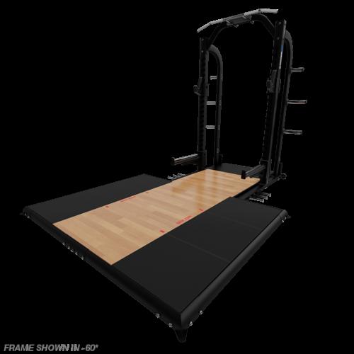 Nautilus Half Rack Sound Dampening Bamboo Platform (9-HDP6D-BB2)