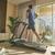 Echelon Stride Folding Treadmill (tablet NOT included)