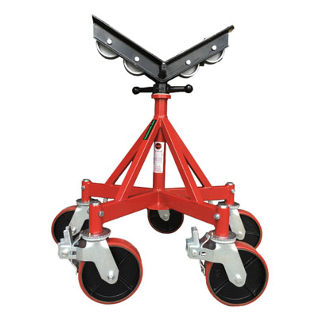 Pipe Jack Stands >> B B Five Leg Giant Pipe Jack Stand