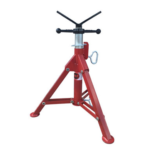 B&B 4000 22-39in V-Head Folding Pipe Jack Stand
