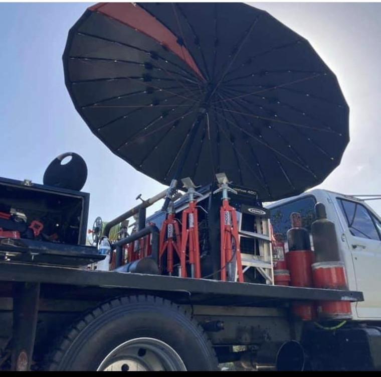 Pipeliners Cloud Umbrella 8 Foot FR