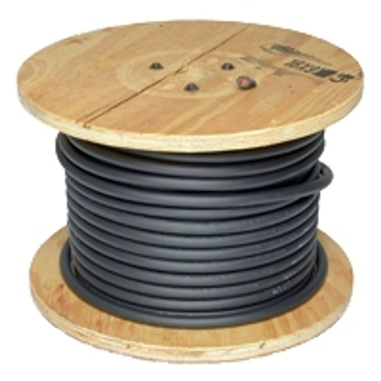 250 foot 1/0 Black-Flex-A-Prene welding cable