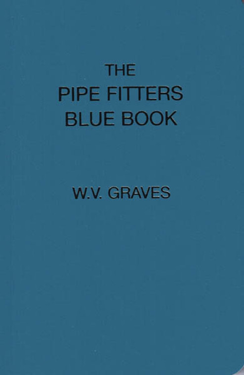 Pipe Fitters Blue Book *FREE SHIPPING*