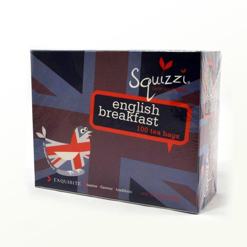 SQUIZZI ENGLISH BREAKFAST - 100 TEA BAGS