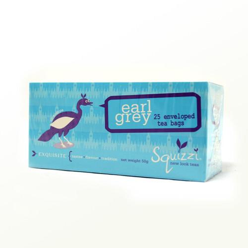SQUIZZI EARL GREY - 25 TEA BAGS