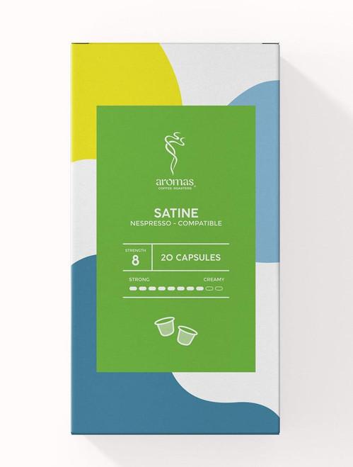 Aromas Satine Nespresso Machine Compatible Coffee Capsules