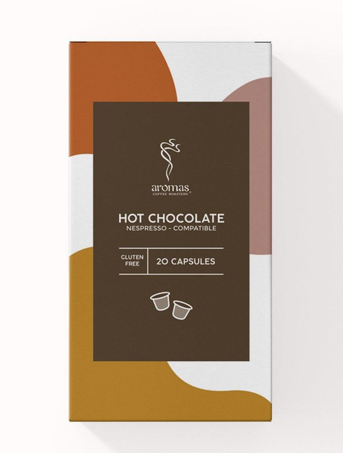 Aromas GF Hot Chocolate Capsules Nespresso Machine Compatible