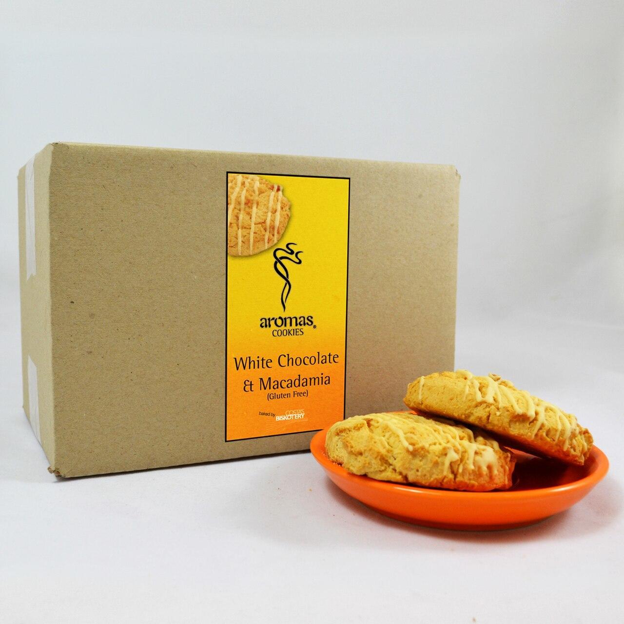 Cookie - White Choc/Macadamia GF 20