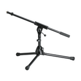 Extra low microphone stand for drums and special use