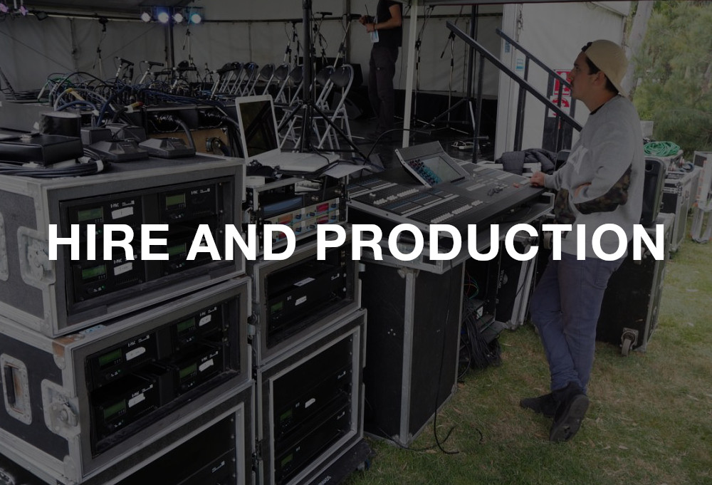 Greenland Audio hire and production