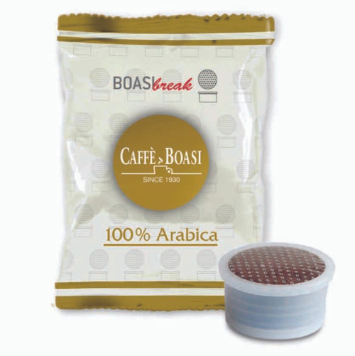 Boasi 100% Arabica - Espresso Point Compatible Capsules (100 ct)