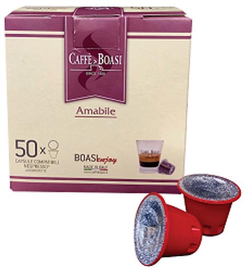 Boasi - Amabile - Nespresso Compatible Capsules (50 ct)