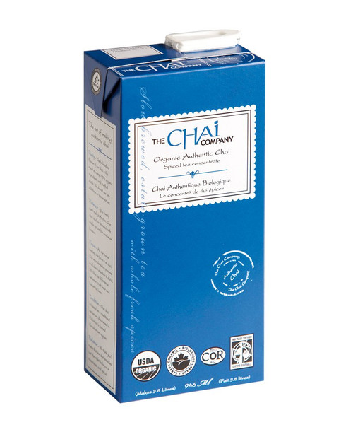 Organic Chai (32 oz concentrate liquid) Tetra Pak