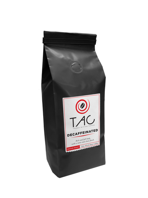 TAC 100% Colombian Decaffeinated - 12 oz