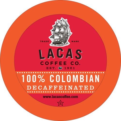 100% Colombian DECAF. for K-Cup Keurig 2.0 Brewers (24 ct)