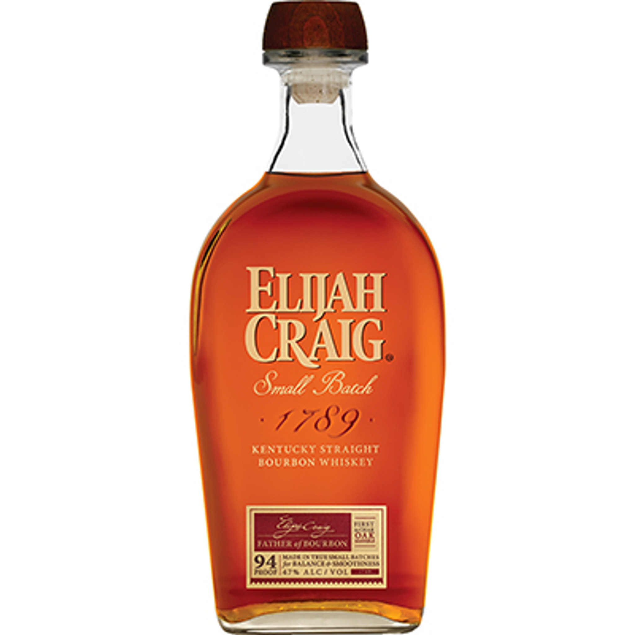 Lækker Elijah Craig Small Batch Kentucky Straight Bourbon Whiskey 94 QU-31