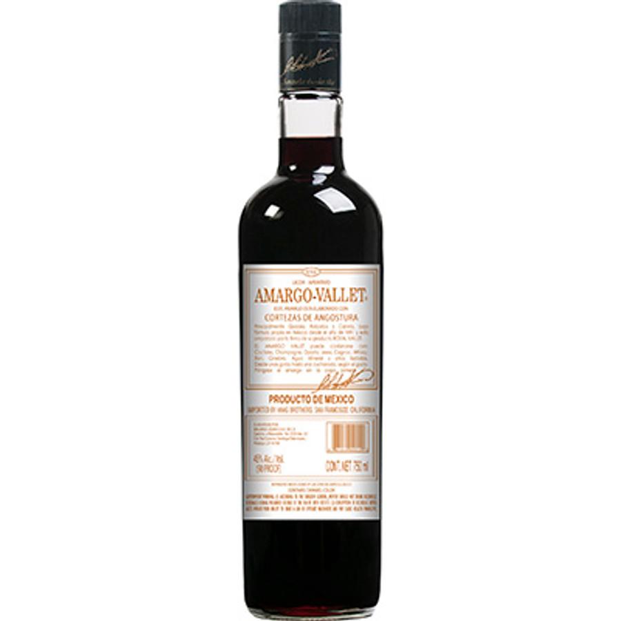 Amargo-Vallet Cortezas de Angostura Licor Aperitivo
