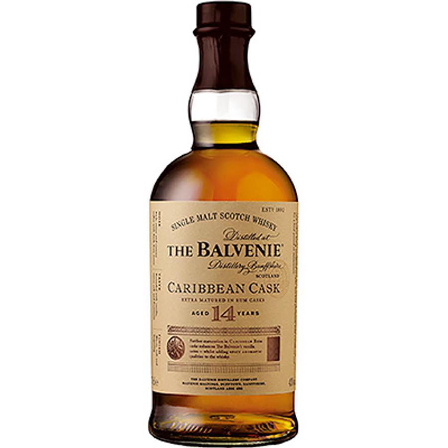 The Balvenie Caribbean Rum Cask 14 Years Single Malt Scotch Whisky