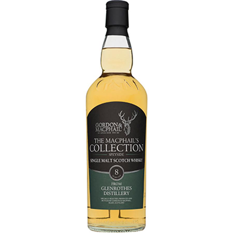 Glenrothes Speyside Single Malt Whisky 8 Year Old Gordon & Macphail Bottling