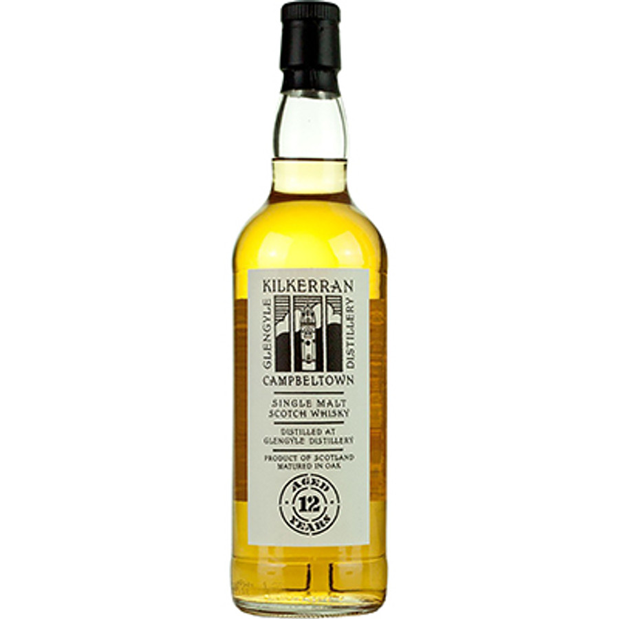 Glengyle Distillery Campbeltown Kilkerran Sherry Wood Single Malt Whisky 12 Years Old