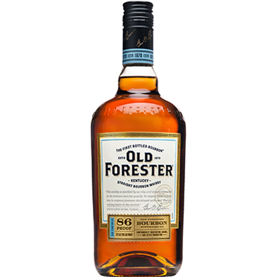 Old Forester Kentucky Straight Bourbon Whiskey Classic 86 Proof