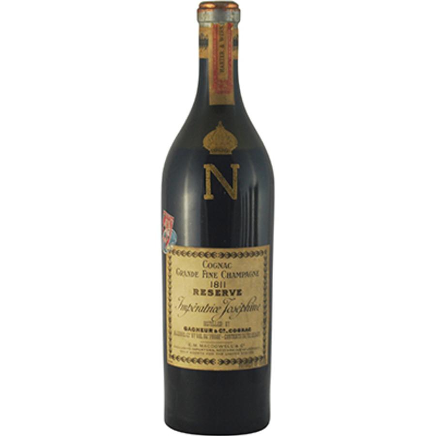 "Gagneur & Co ""Reserve Imperatrice Josephine"" 1811 Napoleon Grande Champagne Cognac Bottled 1934"