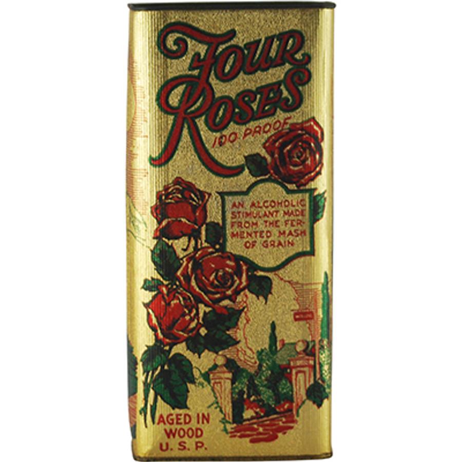 Rare Prohibition Whiskey - Frankfurt Distillery Four Roses, Albert B. Blanton, Original Tamper-Proof Box