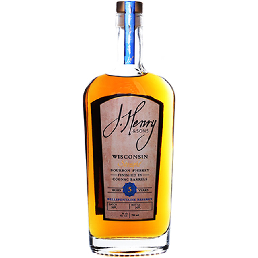 J. Henry & Sons 5 Year Bourbon Bellefontaine Reserve