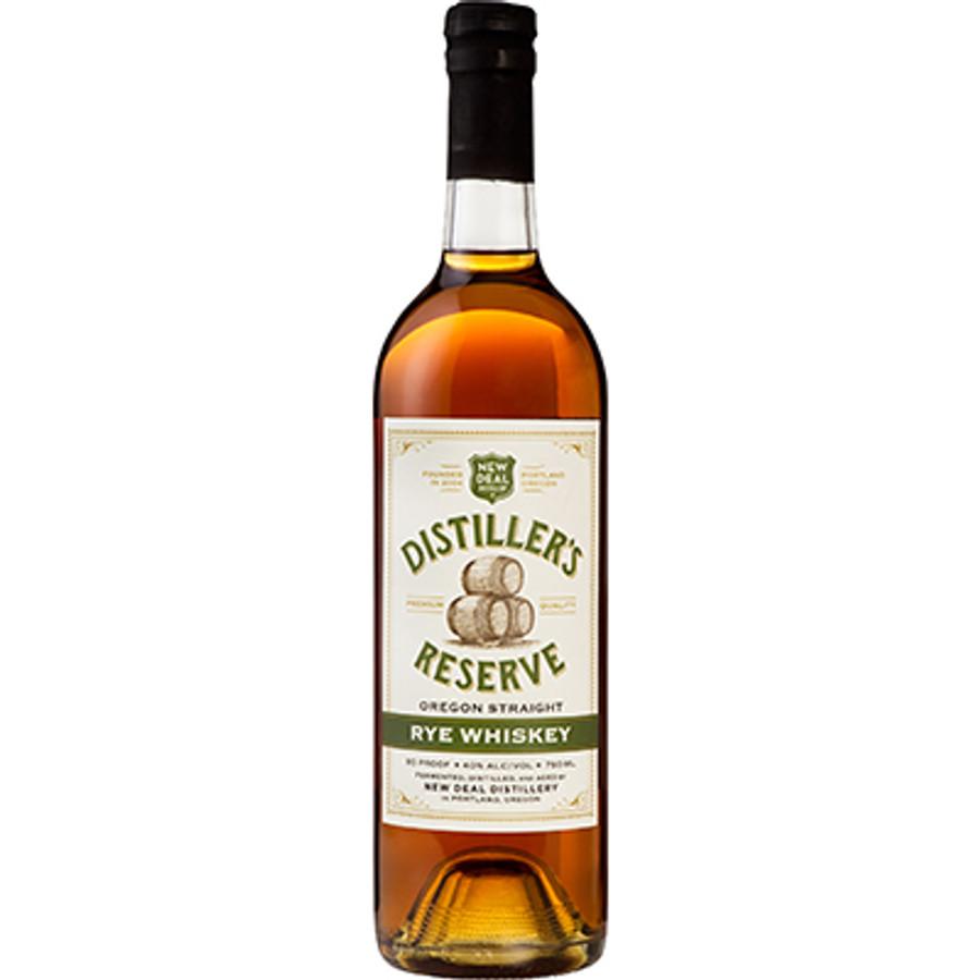 "New Deal Distillery ""Distiller's Reserve"" Oregon Straight Rye Whiskey"