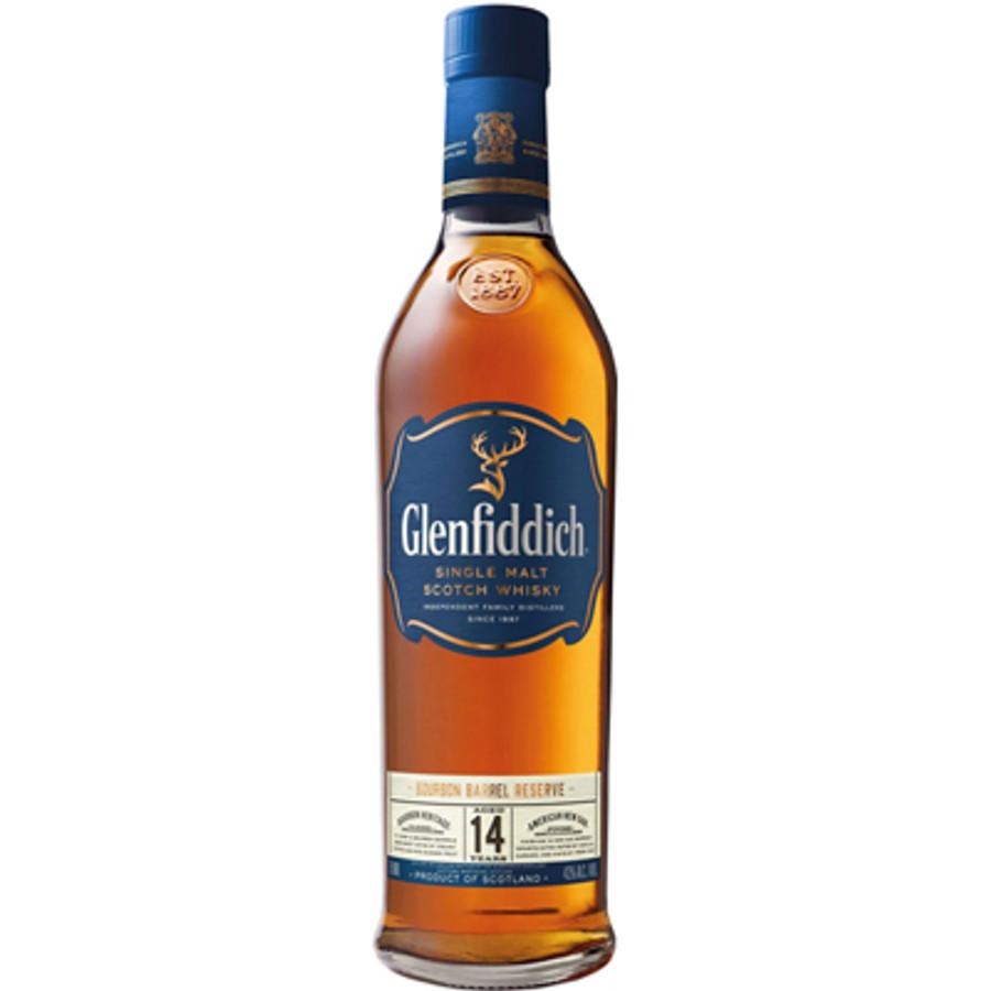 Glenfiddich Single Malt Scotch Bourbon Barrel Reserve 14 Years Old
