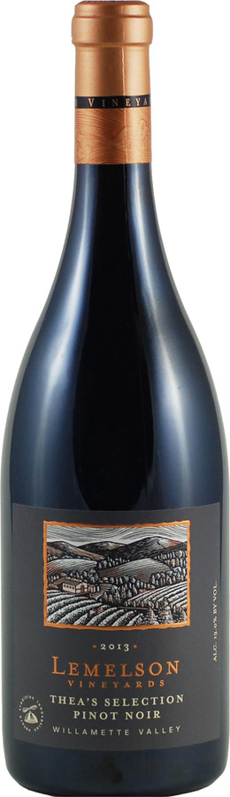 Lemelson Vineyards Thea's Selection Pinot Noir (2014)