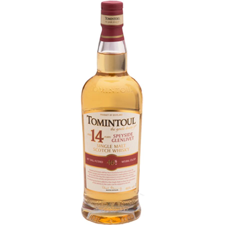 Tomintoul 14 Years Old Speyside Glenlivet Single Malt Scotch Whisky