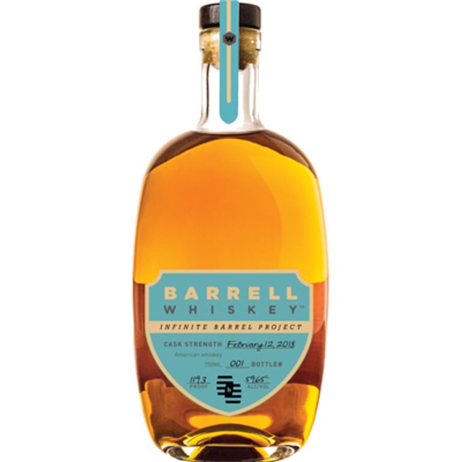 Barrell Craft Spirits Infinite Barrel Project Cask Strength American Whiskey