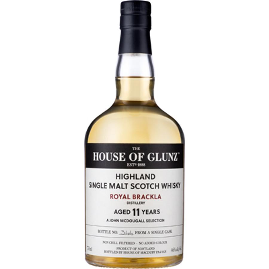 House of Glunz Royal Brackla Single Malt Scotch Whisky 11 Years Old