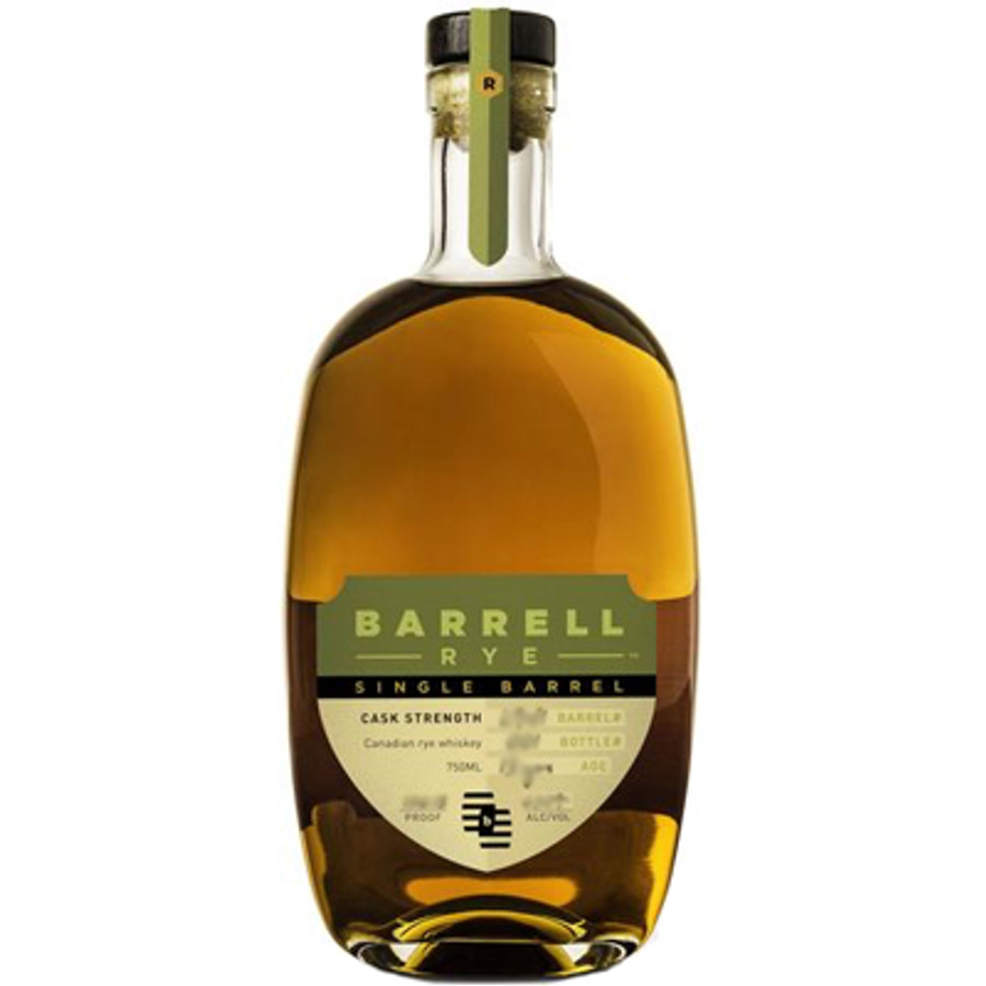 Barrell Craft Spirits Rye Single Barrel Cask Strength 126.7 Proof
