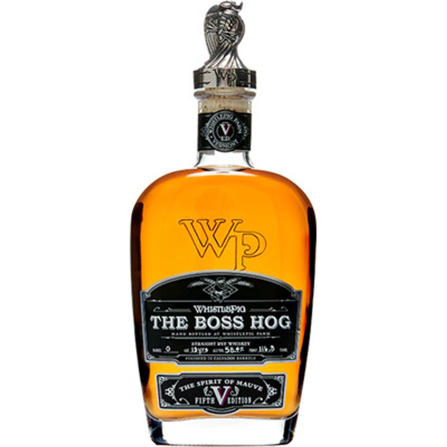 Whistle Pig Straight Rye Whiskey The Boss Hog Edition V: The Spirit of Mauve