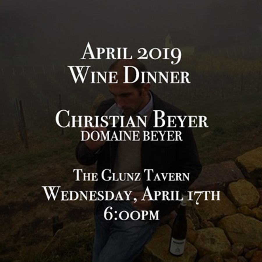 Five-Course Wine Dinner with Christian Beyer of Domaine Beyer