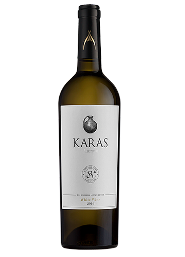 KARAS White Wine (2014), Armavir Region, Armenia